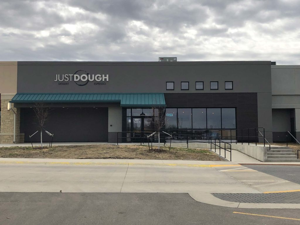 Just Dough Dessert and Espresso Exterior